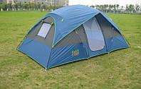 Четырёхместная двухслойная палатка Coleman 1100