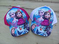 Кепка для девочки Disney Frozen. Размеры:  52,54.