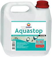Грунт-концентрат глубокопроникающий Eskaro Aquastop Strong 3 л