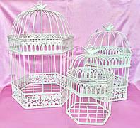 Клетки декоративные, набор из 3 шт