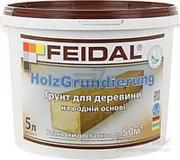 Грунтовка для древесины FEIDAL Holz Grundierung 5 л