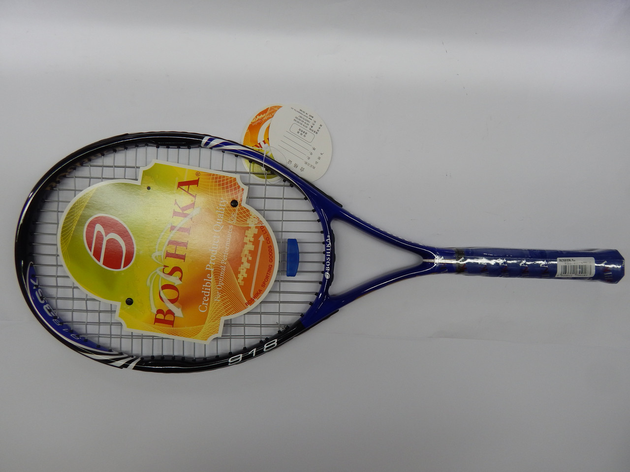 Ракетка для большого тенниса BOSHIKA 918 (поликарбон) - Интернет-магазин Sport2012 в Днепре