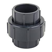 Муфта ПВХ ERA разборная клей-клей 25 мм