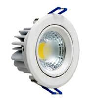 Светодиодный светильник Horoz (HL698L) 3W 6500K кругл. белый поворотный Код.57663