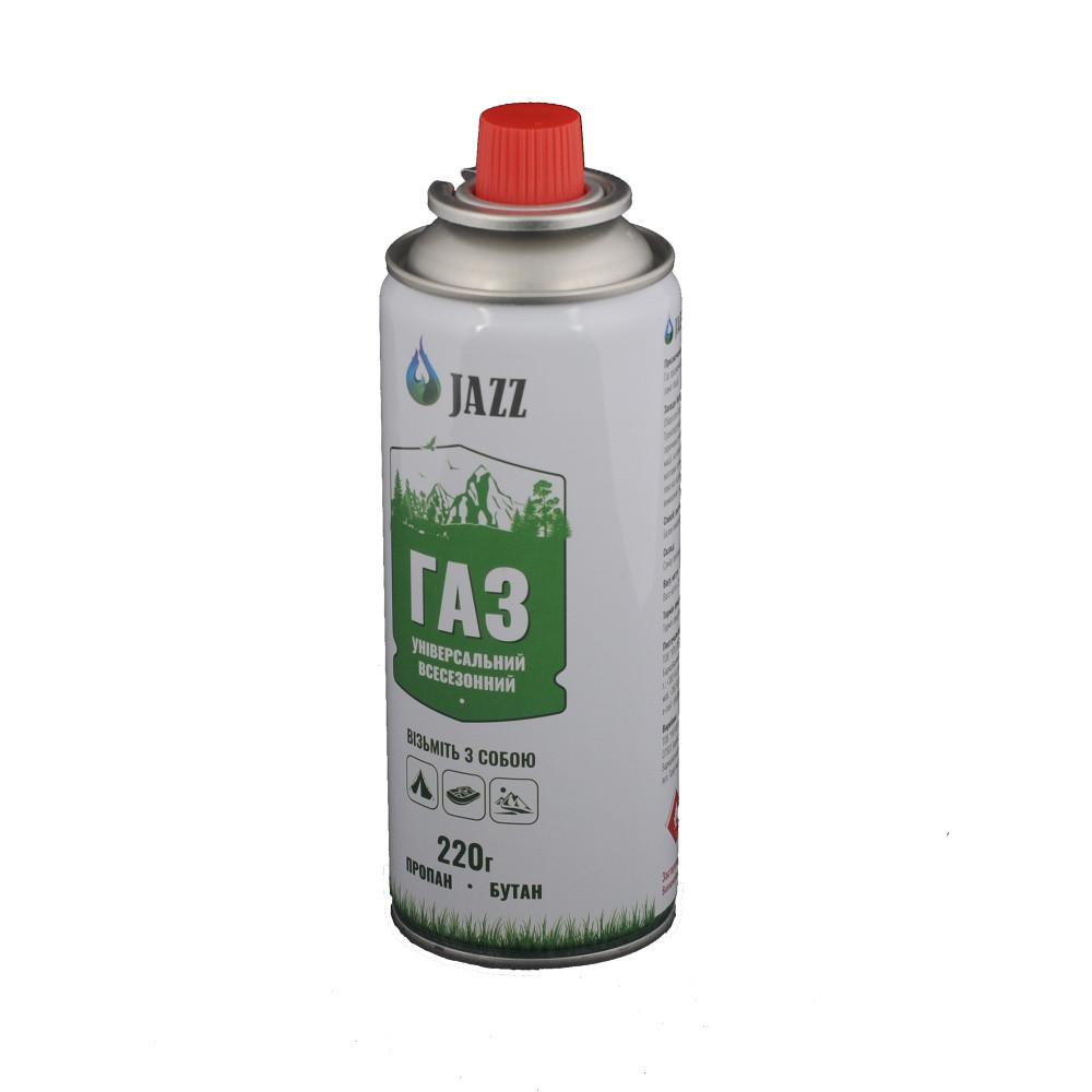 Jazz баллон с газом для горелки 220 мг. - Интернет-магазин военной амуниции Bronyman в Киеве