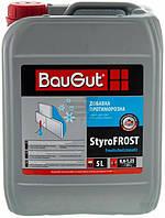 Противоморозная добавка в клей для плит из пенополистирола BauGut StyroFROST 5л