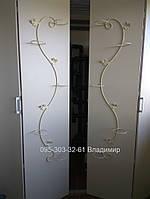 """Подставка для цветов """"Змея"""" на 5 колец (вертикальный)"""