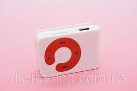 MP3 плеер Клипса + Наушники +USB переходник white (белый)