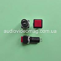 Кнопка без фиксации, 250V 3A,  диаметр посадочного места 11.65 мм