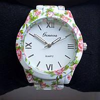 Часы Geneva (roses)