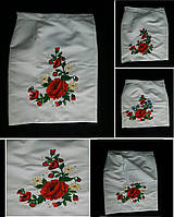 Женская национальная одежда - вышитая плахта, 48-54 р-ры, 490/440 (цена за 1 шт. + 50 гр.)
