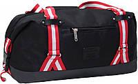 Оригинальная спортивно-дорожная мужская сумка на 27 л. Bagland, Brighton 0031666-black черный