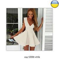 """Летнее женское мини платье, платье """"Венеция"""" с открытым декольте. Разные цвета и размеры. Розница, опт."""