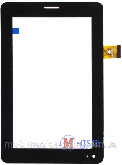 """Тачскрин (сенсорный экран) 7"""" Megafon MT3A (p/n: TPC1219 VER1.0) черный"""