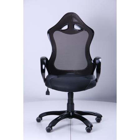 Кресло Матрикс-2 Черный, сиденье Сетка черная/спинка Сетка черная (AMF-ТМ)