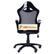 Кресло Матрикс-2 Черный, сиденье Сетка черная/спинка Сетка черная (AMF-ТМ), фото 3