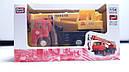 Машинка металл грузовик кран Ульяновец, фото 3