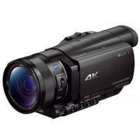 Цифровая видеокамера Sony FDR-AX100 Black