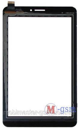 Тачскрин (сенсорный экран)  (p/n:HOTATOUCH C187106A1-FPC735DR-02) черный, фото 2