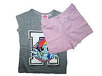 Пижама трикотажная для девочки, размеры 86/92, Lupilu, арт. 862944