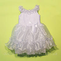 """Платье """"Новогоднее"""" цвет:белое"""