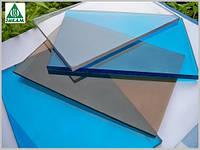 Монолитный поликарбонат Plexicarb 1UV, бронза 3мм