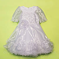 """Платье """"Новогоднее""""цвет:белое"""