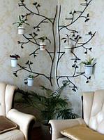 Дерево угловое, подставка для цветов на 24 чаши, фото 1