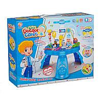 """Игровой набор """"Доктор""""  (311-1) 33 предмета, свет, звук, на батарейке, в коробке"""