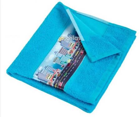 Махровое полотенце Мультик, 50х70 см, фото 2
