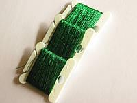 Люрекс, цвет зеленый.  (50м)