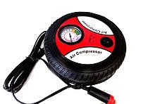 Супер цена на автомобильный Компрессор 260 PSI Стилизованый под колесо