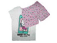 Пижама трикотажная для девочки, размеры 122/128,134/140,134/140,  Lupilu, арт. 014051