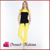 КОСТЮМ СПОРТИВНЫЙ ЛЕТНИЙ ~NIKE-ПЛЮС~ цвет жёлтый, фото 3