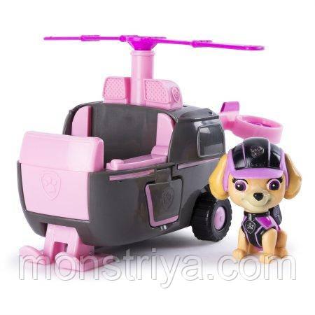 Игрушки щенячий патруль-Миссия Paw Patrol - Скай с вертолетом.