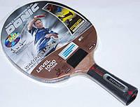 Ракетка для настольного тенниса теннисная DONIC 1000 Waldner + подарок