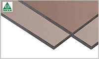 Монолитный поликарбонат Plexicarb 1UV, бронза 3мм 36