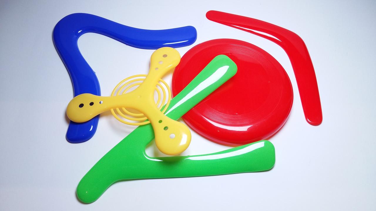 Набор бумерангов для детей 5шт в наборе