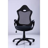 Кресло Матрикс-1 Черный, сиденье Сетка черная/спинка Сетка черная (AMF-ТМ)