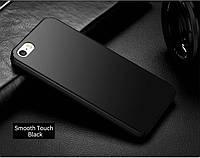 Чехол для iPhone 5/5s SE Софт-тач пластик, Черный