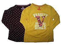 Реглан для девочки, ( 2 шт в упаковке), размеры  86/92,110/116, Lupilu, арт. 110891