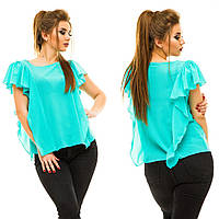 Блузка женская большие размеры (цвета) АНД5009, фото 1