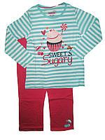 Пижама трикотажная для девочки, размеры 98/104, 110/116, Lupilu, арт. 271391