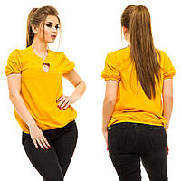 Блузка женская большие размеры (цвета) АНД5008, фото 1