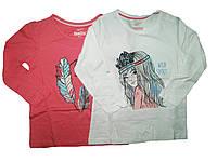 Реглан для девочки, ( 2 шт в упаковке), размеры 110/116, Lupilu, арт. 277035