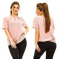 Блузка женская большие размеры (цвета) АНД5007