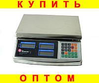 Весы торговые мелталл Domotec ACK MS 968 40kg 6v