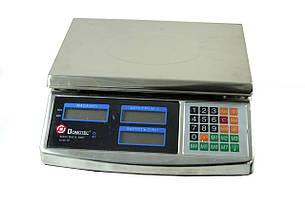 Весы торговые мелталл Domotec ACK MS 968 40kg 6v, фото 2