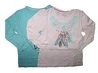 Реглан для девочки, ( 2 шт в упаковке), размеры 86/92, 110/116, Lupilu, арт. 008373