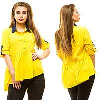Блузка женская большие размеры (цвета) АНД5004, фото 1